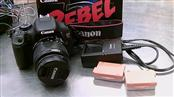 CANON CAMERA EOS REBEL T3I,18-55MM LENS,CHARGER